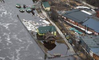 ВИДЕО | Смотрите, как выглядело бы превышение критического уровня воды в Хаапсалу и Пярну