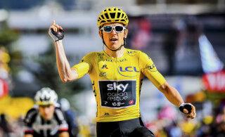 VIDEO | Tour de France'i tiitlikaitsja kukkus Šveitsi velotuuril ja viidi haiglasse