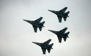 РФ дважды за сутки подняла Су-27 из-за американских бомбардировщиков над водами Балтики