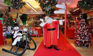 Mainekas Briti kaubamaja pani sellest aastast jõuluvana külastusele üüratu hinnalipiku külge