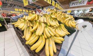 Banaanivabariik puu- ja köögiviljalettidel: maskukoormus trügib Eesti aednikud konkurentsist välja