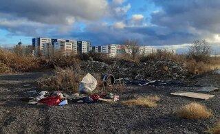 ФОТО | Читатель жалуется на свалку возле церкви в Ласнамяэ