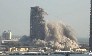 ВИДЕО | Необычный рекорд — контролируемый взрыв самого высокого небоскреба