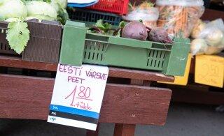 Nädalavahetusel turule | Vaata, mis hinnaga müüakse Eesti turgudel värskeid aiasaadusi!