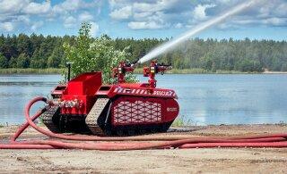 ФОТО | Эстония привлечет к спасательным работам пожарных роботов