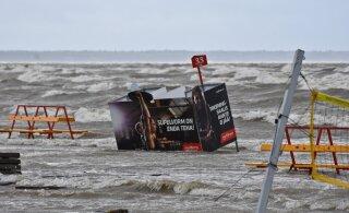 TORMIBLOGI | Ilmateenistus andis tänaseks kogu Eestile tormihoiatuse, tugevaimad tuuleiilid ulatuvad 27 meetrini sekundis