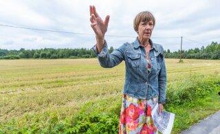 """Rail Balticu plaanidest juhuslikult teada saanud maaomanik: """"Tunnen, et minust sõidetakse üle. Rongiga."""""""