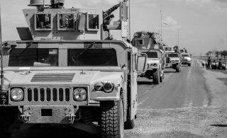 Военная база коалиции США в Ираке подверглась ракетным ударам