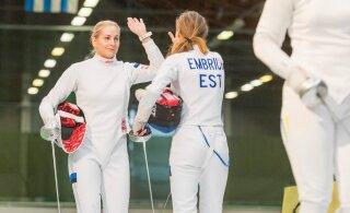 Super! Eesti epeenaiskond vehkleb Chengdu MK-etapi finaalis