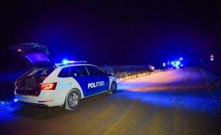 В Элва в аварии погиб молодой мужчина. Водитель с места происшествия сбежал