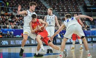 Eesti korvpallikoondis tõusis maailma edetabelis kolm kohta