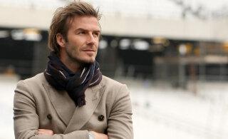 KLÕPS | David Beckham näitas haruldast pilti oma õest