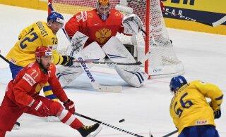 VIDEO | Jäähoki MM-il said paika veerandfinaalpaarid, Venemaa andis Rootsile õppetunni