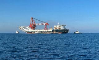 """Укладка """"Северного потока - 2"""" в водах Дании продлится до сентября"""
