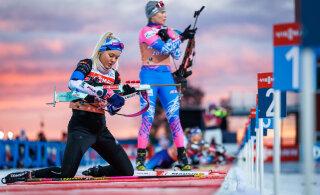 Grete Gaim ja Susan Külm edestasid IBU karikal murdmaasuusatamise olümpiavõitjat