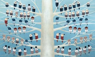 ФОТО | Вот как выглядит рождественская открытка от президента Кальюлайд! Сможете угадать ее смысл?