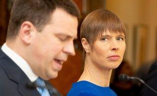 Reuters — о кризисе в эстонском правительстве: заявление Керсти Кальюлайд оказало давление на Юри Ратаса