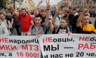 VIDEO | Minski traktoritehase töötajad alustasid streiki