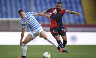Tunjovi debüüt Itaalia kõrgliigas algkoosseisus lõppes kaotusega, Klavan pääses samuti algrivistusse