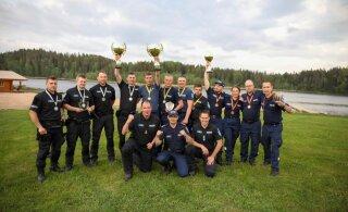 Politsei kutsemeisterlikkuse võistlustel võtsid kaksikvõidu Kagu jaoskonna võistkonnad