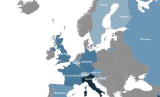 ИНТЕРАКТИВНАЯ КАРТА | Коронавирус добрался до многих европейских стран, в том числе Эстонии