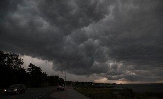 Неутешительный прогноз на начало недели: дожди, грозы и град
