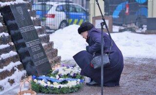 ФОТО | На кладбище Рахумяэ отметили Международный день памяти жертв Холокоста