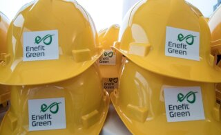 Объем производства энергии Enefit Green за полгода вырос в три с половиной раза