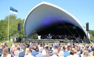 ФОТО | Спасибо вам! Юри Ратас пригласил помогавших правительству в разрешении кризиса людей на концерт!