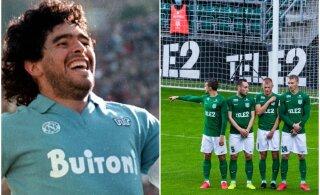 TULINE DEBATT | Kas tippvormis Maradona saanuks tänases Eesti meistriliigas hakkama?