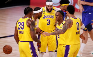 VIDEO | Võimsa esituse teinud Lakers läks NBA läänekonverentsi finaali juhtima