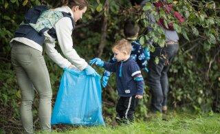 На Всемирный день чистоты в Эстонии зарегистрировались 30 000 человек