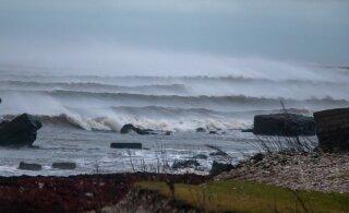 Ilm kisub tormiseks: rannikul võivad tuuleiilid tõusta 25 meetrini sekundis