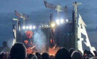 """ВИДЕО   Вот так сюрприз! Metalica в Тарту исполнила песню эстонской группы Vennaskond """"Гиперболоид инженера Гарина"""""""
