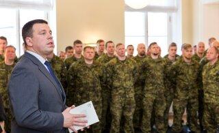 FOTOD | Jüri Ratas ja Martin Herem tunnustasid Eesti rahuvalvajaid