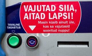 Inimesed annetasid taaraautomaatide kaudu rekordilise kuuekohalise summa