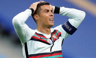 Cristiano Ronaldo andis taas positiivse koroonatesti ja jääb Barcelonaga mängust eemale