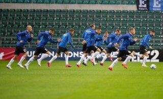 Kas jalgpallikoondis saab kodumängud Eestis pidada? Valitsus täna otsust ei teinud