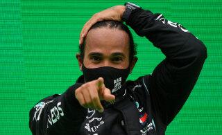 Lewis Hamilton rahustas fänne: ma jätkan vormel-ühes