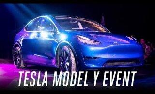 VIDEO | Tesla Model Y: kompaktne kõikjalsõitja suudab ühe laadimisega läbida 480 km