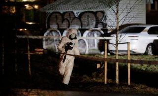 ФОТО: В Мустамяэ мужчина с ножом напал на человека. Полиция развернула масштабную операцию