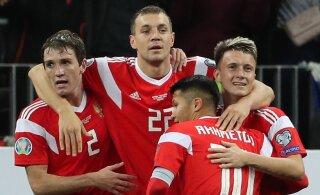 Россия разбила Шотландию, Бельгия пробилась на Евро-2020
