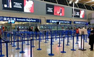 ФОТО | Эстонский турист в Шанхае: я надеюсь, что скоро вернусь домой