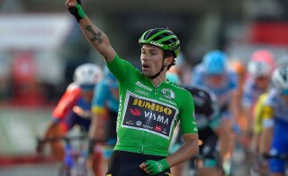Vueltal kolmanda etapivõidu saanud Roglic tõusis velotuuri üldliidriks