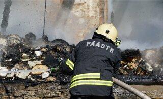 PILDID | Purjus mees avastas poest koju jõudes põleva maja