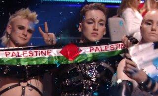 KROONIKA TEL AVIVIS | Poliitiline skandaal! Island avaldas toetust Palestiinale, artistid eemaldati koheselt eetrist