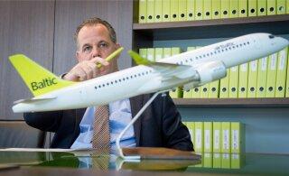 airBaltic kasvas Eestis kaks korda kiiremini kui mujal