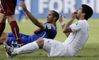 Luis Suarez meenutas hammustamise skandaali: arvasin, et mu karjäär on läbi