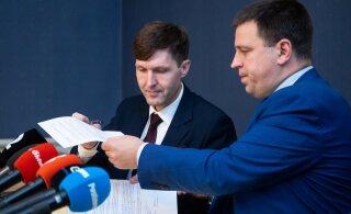 Jüri Ratas saatis Martin Helmele tänutäheks raske nädala eest tordi
