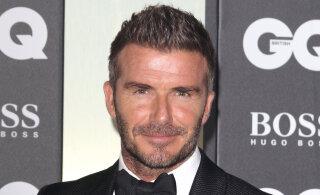 KLÕPS | Peaaegu teine inimene! David Beckham taaslavastas 15 aastat tagasi kuulsaks saanud fotoseeria